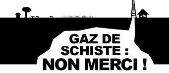Non aux gaz de schistes
